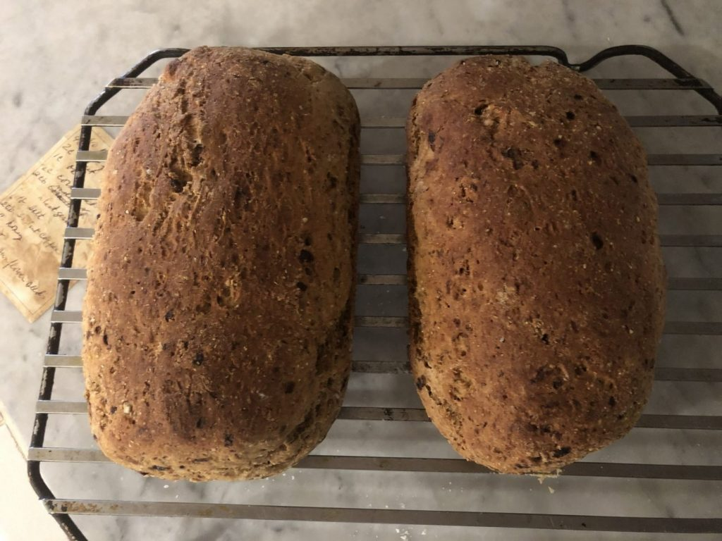 Uncle Rodger's Hippie Bread recipe